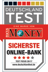 Sicherste Online-Bank