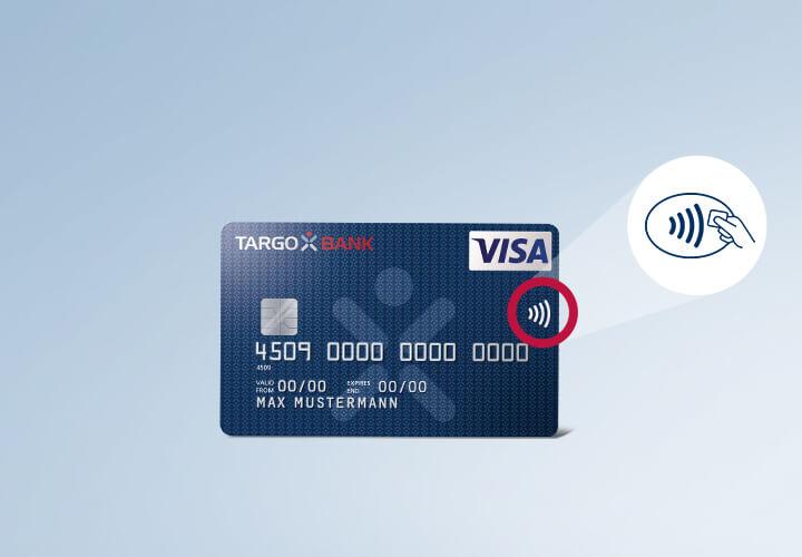 Unterschrift American Express Karte.Kontaktlos Bezahlen Targobank